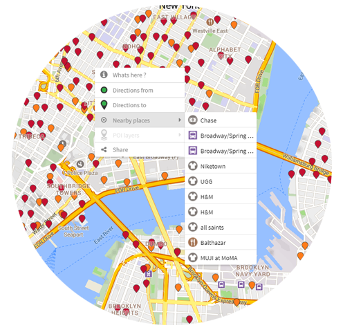 Mapzen alternative for search and places